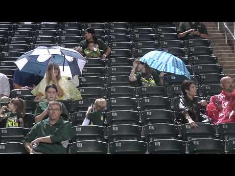 Lobos vs. Marshall weather delay