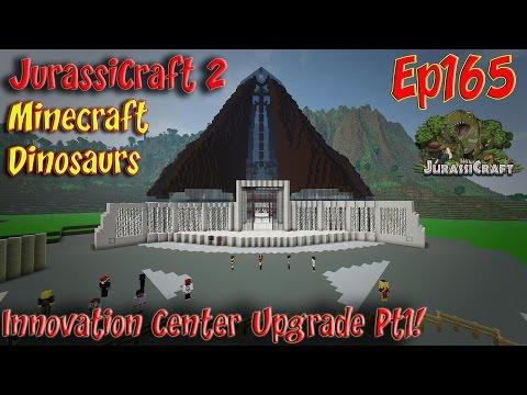 JurassiCraft 2.0 Jurassic World Ep165 Innovation Center Upgrade Pt1