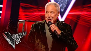 Sir Tom Jones' 'Knock On Wood' | Blind Auditions | The Voice UK 2020