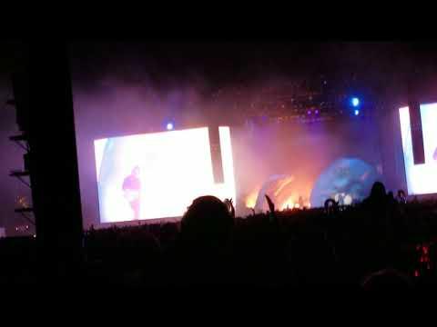 The Weeknd Feat. Kendrick Lamar - Sidewalks live @ Coachella 2018 Weekend 1