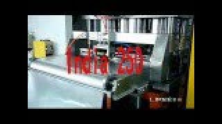 aluminium foil container making machine press line 63T - Indian 250ml
