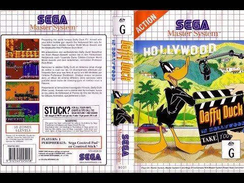 Daffy Duck In Hollywood SEGA Master System Complete Soundtrack CD