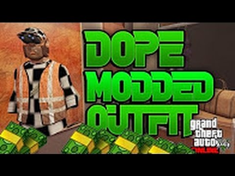 GTA 5 Online Modded Outfit After Patch 1,39