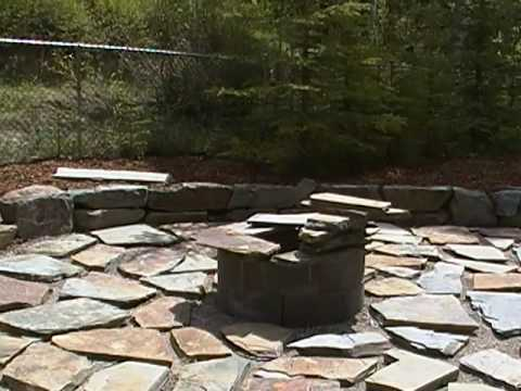 How To Lay A Flagstone Patio (Part 2of2).MP4