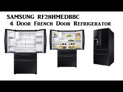 Samsung 4 Door Refrigerator Samsung Rf28hmedbbc 4 Door French Door