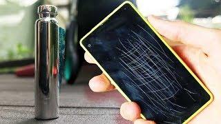 Telefonları Noter Onaylı Çizilmez Yaptığını İddia Eden Spreyi Denedik! (Katana İçerir!)