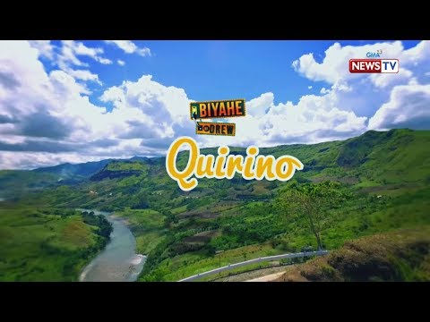 Biyahe ni Drew: Action-packed adventure in Quirino (Full episode)
