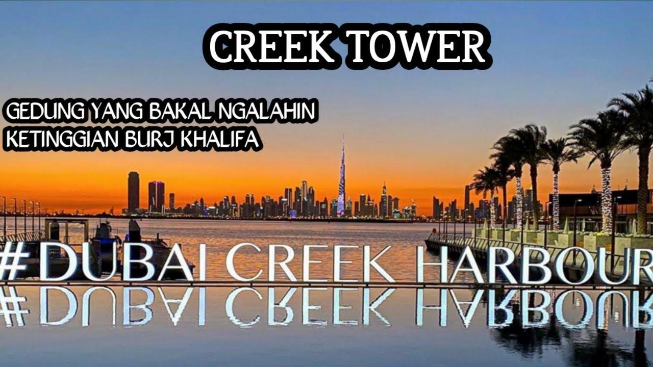Jalan jalan ke DUBAI CREEK HARBOUR  | Gedung setinggi 1300 meter yang akan mengalahkan BURJ KHALIFA