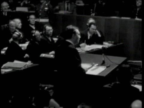 Nuremberg Day 2 Justice Robert H. Jackson's Opening Statement, Nuremberg, November 21, 1945
