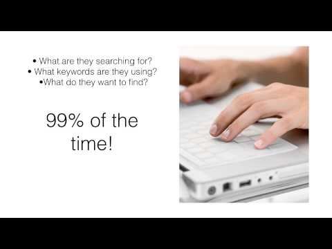 How to Get your Website to the Top of Google - Great Video!