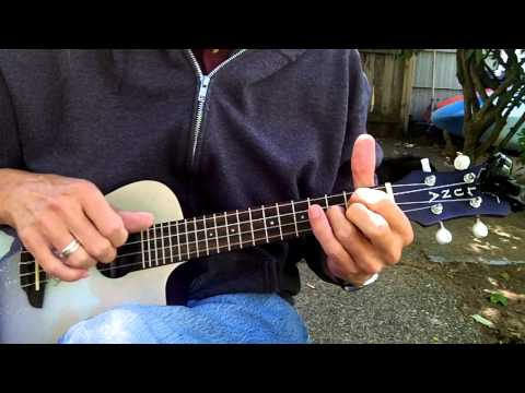 "Sawlon ""Ashokan Farewell Uke"" - Standard Notation And Tab"