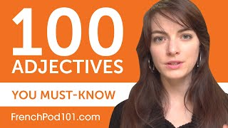100 Adjectives Every French Beginner Must-Know