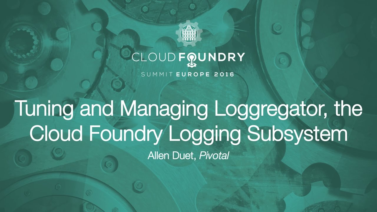 CloudFoundry: Logging for the spring-music webapp, Part 4