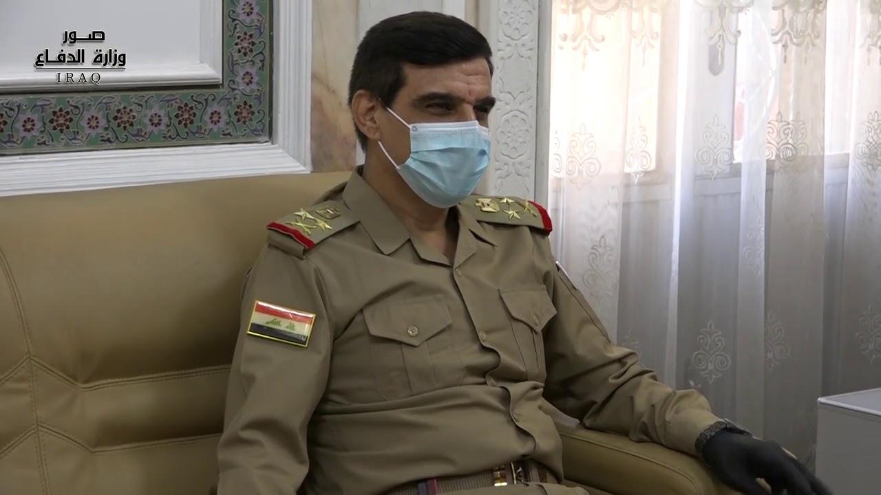 رئيس اركان الجيش يستقبل الامين العام لوزارة الدفاع