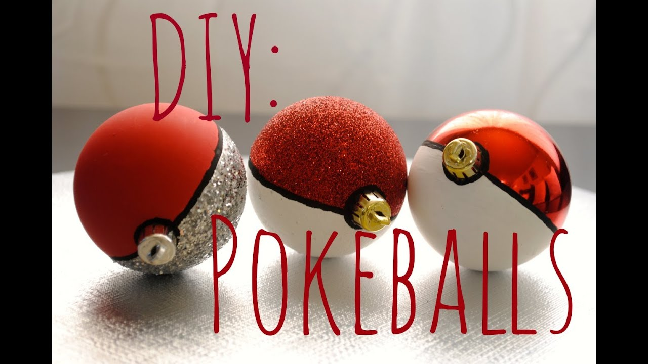 How To Make Pok 201 Balls Tutorial Pok 233 Mon Youtube