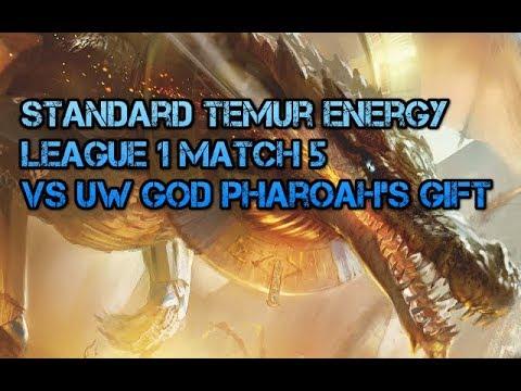 Ixalan Standard Temur Energy vs UW God Pharaoh's Gift League 1 Match 5
