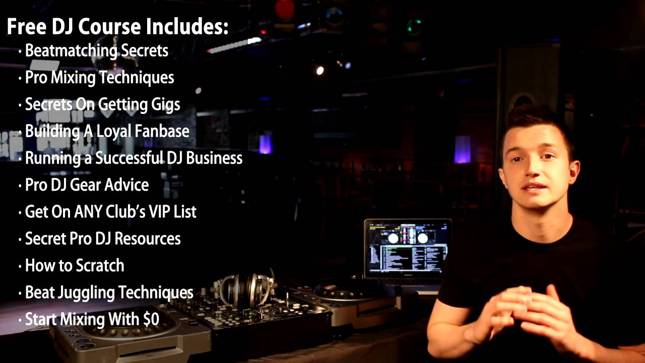 Beginner DJ Lessons - Learn How To DJ Fast Online FREE!