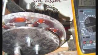 CONSTRUCTION MAISON DE MA PETITE EOLIENNE - WIND TURBINE GENERATOR