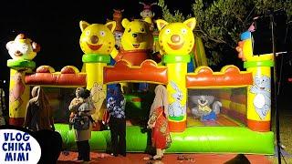 Bermain Istana Balon Terbesar - Mainan Perosotan Anak