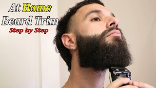 How to Trim Y๐ur Beard At Home - Step By Step - Raw Sound