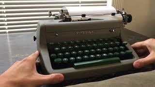 1955 Royal Quiet DeLuxe Typewriter