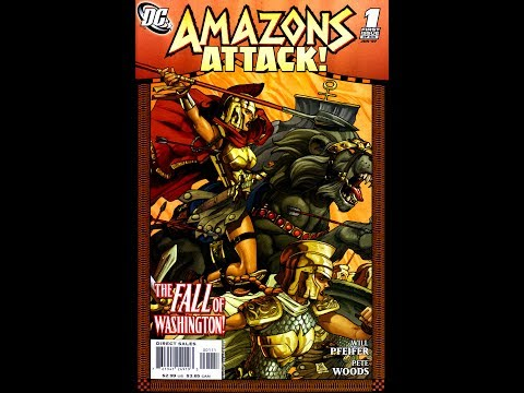 Amazons Attack! Issue #1( 2007) -Video Review-