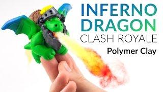 Inferno Dragon (Clash Royale) – Polymer Clay Tutorial thumbnail