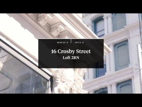 16 Crosby Street / Kristin Thomas-Senior