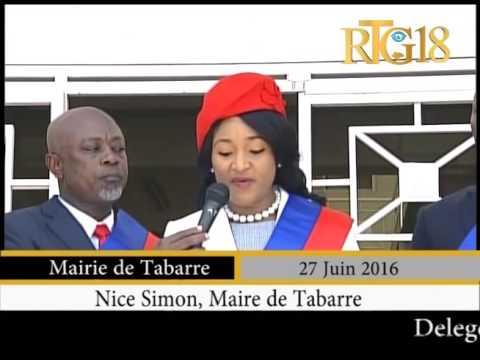 Haïti.- Installation du nouveau cartel de la commune de Tabarre