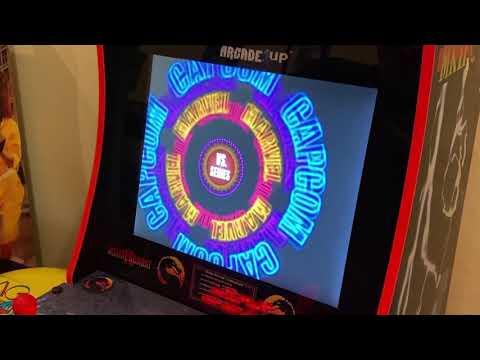 Marvel Vs Capcom 2 Arcade Version Running on Modded Arcade1up from Kelsalls Arcade