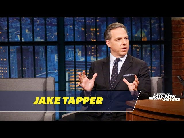 Jake Tapper Shares His Thoughts on Michael Wolff's Book