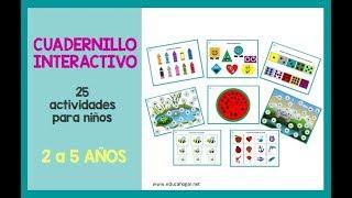 Cuadernillo Interactivo Para Ninos De 2 A 5 Anos Educahogar Net Educahogar Net