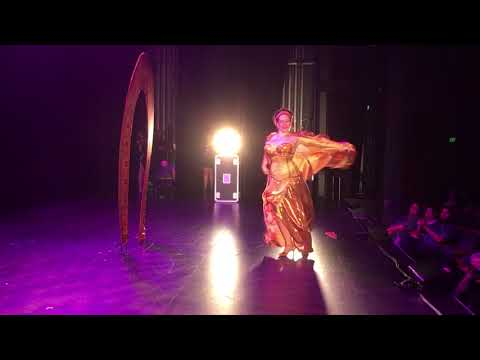BURLESQUE IDOL CANBERRA Guest Judge Angelica G Lamour