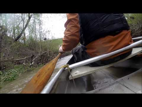 Canoeing The Waukegan River To Lake Michigan Onto Waukegan Harbor