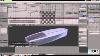 How To Model A Motor Boat In Blender 2.6 Part02