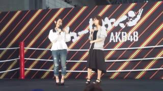 都築里佳さん、犬塚あさなさんの気まぐれオンステージ2017年6月25日幕張...