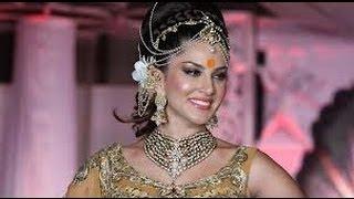 PORN STAR Sunny Leone on Ramp walk as HOT Bride