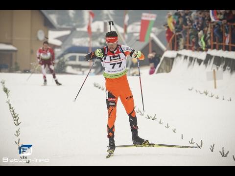 IBU Cup 2016/17 v Osrblí: Matej Kazár v rýchlostných pretekoch