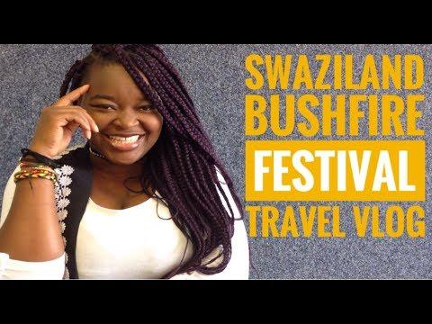 MTN Bushfire Festival in Swaziland - Travel Vlog | LifeAsTemiSeesIt