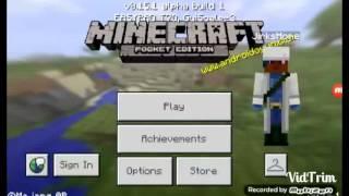Minecraft pe gizli ev yapımı (izleyin çok işe yarıyor)