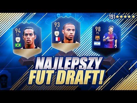 NAJLEPSZY DRAFT Z PRIME IKONAMI W FIFA 18!
