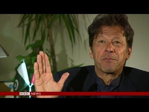 IMRAN KHAN: 'US DOESN'T WANT PEACE IN PAKISTAN' - BBC NEWS