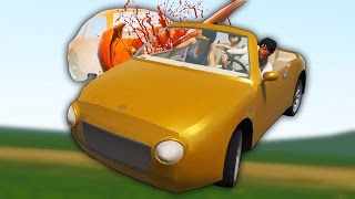 3D HAPPY WHEELS FUNNY MOMENTS! (Guts and Glory)