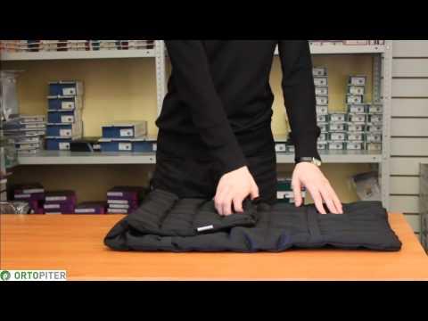 Ортопедическая накидка (подушка) на автомобильное сиденье Авто-люкс