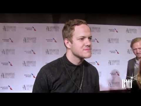 Imagine Dragons' Dan Reynolds at the 2014 Songwriters Hall of Fame Induction Gala