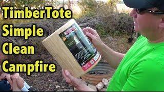 TimberTote Portable Campfire Log Review