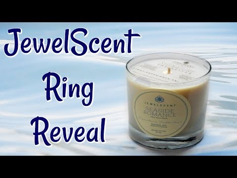 JewelScent Ring Reveal - Seaside Romance Candle!