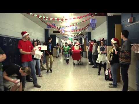 Chesaning Union High School 2014  Holiday lip dub