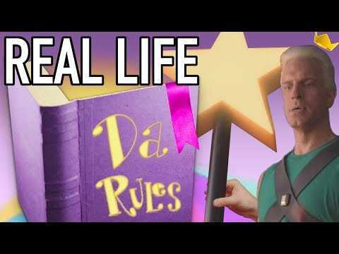 Da Rules IN REAL LIFE (Fairly OddParents)