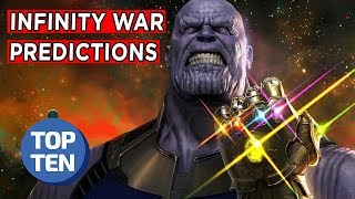 Top 10 Avengers: Infinity War Predictions